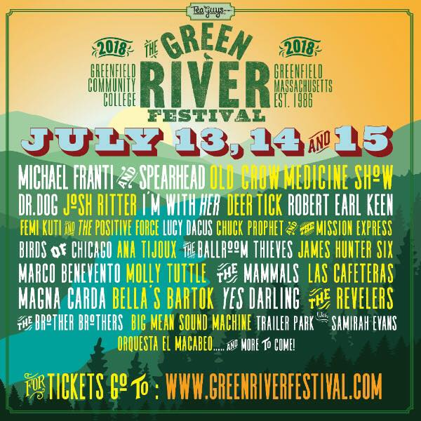 Grren River Fest july 13 Flyer